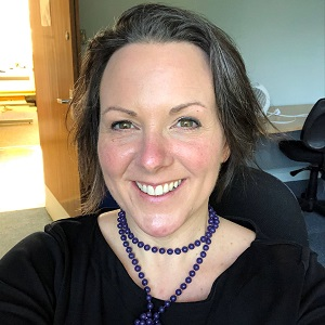 Clinical Lead Nurse Kathy Lawrence-Clarke
