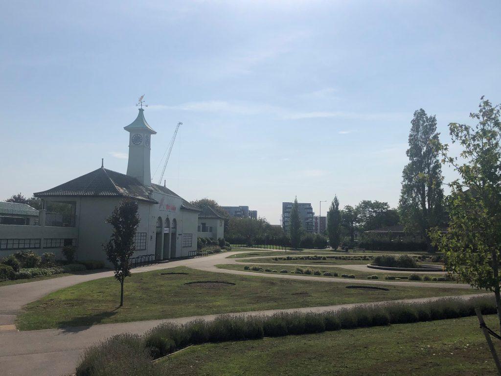 Lido in Peterborough